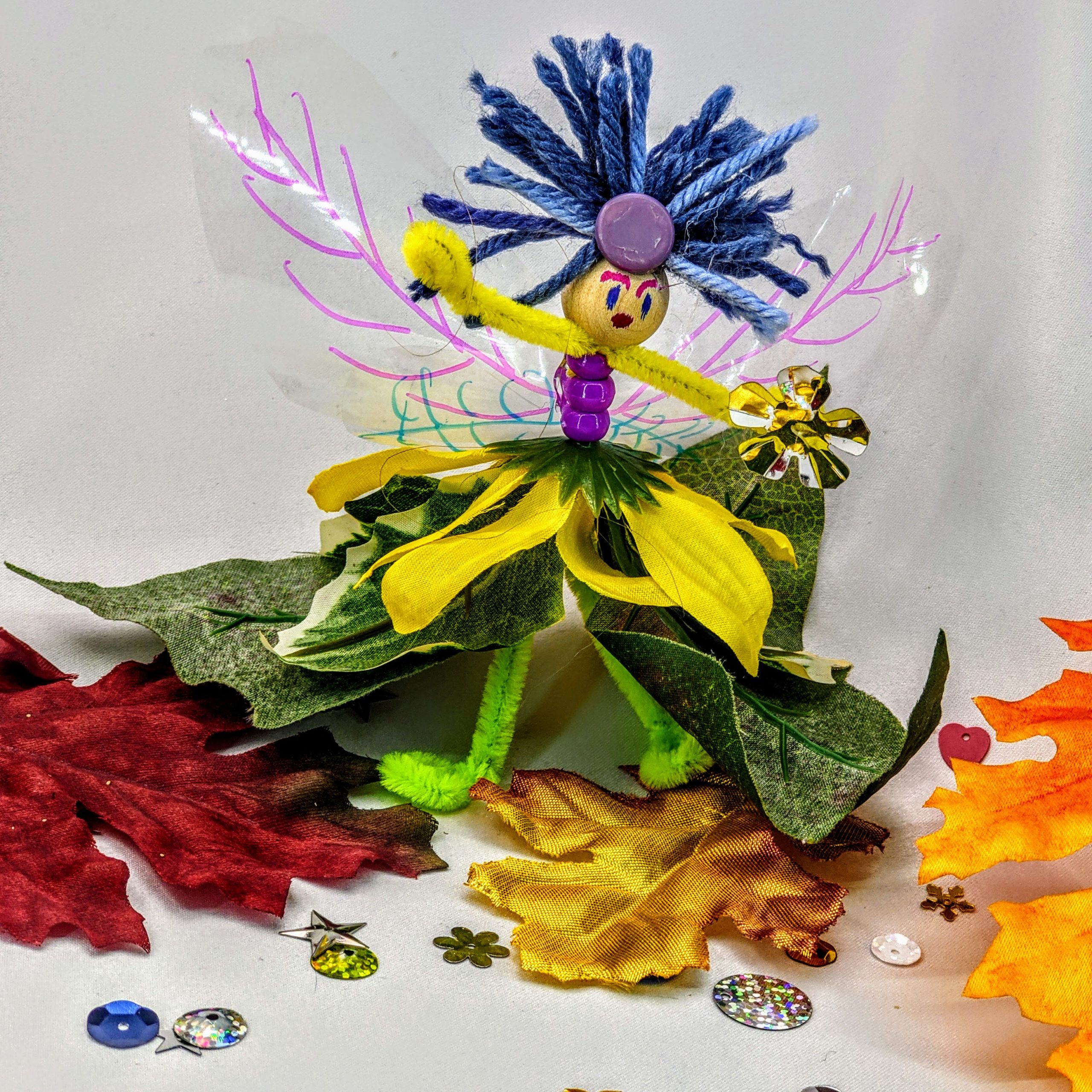a flower fairy craft